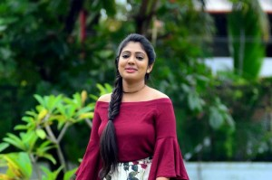 Thodra Movie Actress Veena Nandakumar Hot Photoshoot Stills
