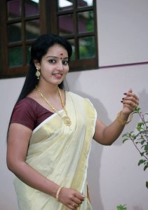 Malavika Menon Set saree